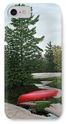 North Country Canoe IPhone Case
