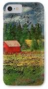 North Idaho Farm IPhone Case