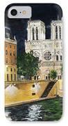 Notre Dame IPhone Case by Bruce Schmalfuss