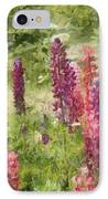 Nova Scotia Lupine Flowers IPhone Case