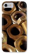 Nuts And Screw IPhone Case