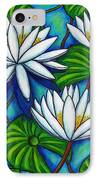 Nymphaea Blue IPhone Case