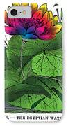 Nymphaea IPhone Case by Eric Edelman