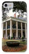 Oak Alley Plantation IPhone Case by Perry Webster