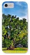 Oak Alley Plantation IPhone Case by Steve Harrington