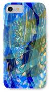 Ocean Girl With Golden Wheats IPhone Case by Navo Art