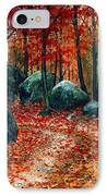 October Woodland IPhone Case