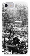 Oil: Pennsylvania, 1863 IPhone Case