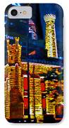 Old Chicago Pumping Station IPhone Case by Michael Durst