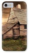 Old English Barn IPhone Case