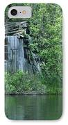 Old Shed On The Lake IPhone Case by Marjorie Imbeau