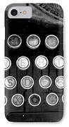 Old Tech Low Tech IPhone Case by Mark Grayden