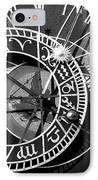 Old Town Clock IPhone Case by John Rizzuto