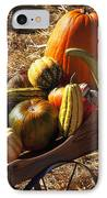 Old Wagon Full Of Autumn Fruit IPhone Case by Garry Gay