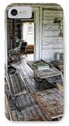 Oldest School House C. 1863 - Montana Territory IPhone Case by Daniel Hagerman