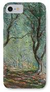 Olive Trees In The Moreno Garden IPhone Case by Claude Monet