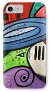 On Earth As It Is In Heaven IPhone Case by Anthony Falbo