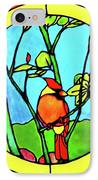 On The Branch IPhone Case by Farah Faizal