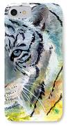 On The Prowl IPhone Case by Sherry Shipley