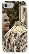 On The Road-mitt Romney IPhone Case