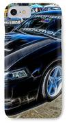 One Bad Ass Squad Car IPhone Case by Tommy Anderson