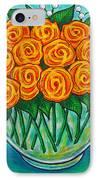 Orange Passion IPhone Case