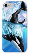 Orca 2 IPhone Case by Jerry LoFaro