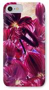 Oriental Orchid Garden IPhone Case