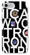 Original Six IPhone Case by Andrew Fare