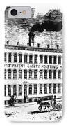 Otis Elevator Factory IPhone Case