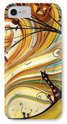 Out West Original Madart Painting IPhone Case by Megan Duncanson