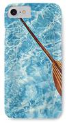 Overhead View Of Paddle IPhone Case by Joss - Printscapes