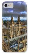 Oxford University - All Souls College IPhone Case by Yhun Suarez