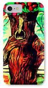 Oz Grumpy Apple Tree IPhone Case by Jo-Ann Hayden