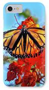 Painted Lady IPhone Case by Robert Bales
