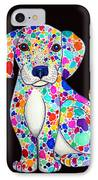 Painted Puppy 2 IPhone Case by Nick Gustafson