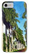 Palms IPhone Case by Jose Manuel Abraham