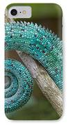 Panther Chameleon Tail IPhone Case