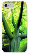 Papaya Tree IPhone Case