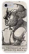 Paracelsus, Swiss Alchemist IPhone Case