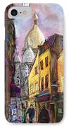 Paris Montmartre 2 IPhone Case by Yuriy  Shevchuk