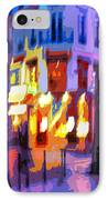 Paris Quartier Latin 02 IPhone Case