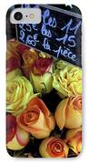 Paris Roses IPhone Case by Kathy Yates