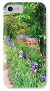 Path To Monet's House IPhone Case