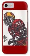 Patrick Willis IPhone Case by Jeremiah Colley