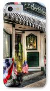 Patriotic Street IPhone Case by Debbi Granruth