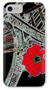 Pause To Contemplate 1 IPhone Case by Will Borden