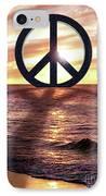 Peace On The Shoreline IPhone Case