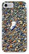Pepples On The Beach IPhone Case