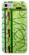 Peridot Party IPhone Case by Tara Hutton
